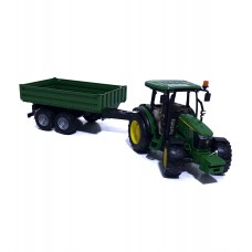 Трактор John Deere 5115M + прицеп (Игрушка)