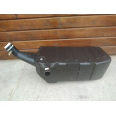 Бак топливный металлический левый с горловиной (оригинал) 70-1101020