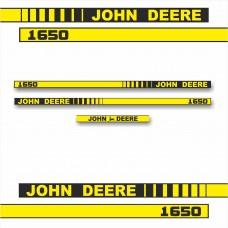 Комплект наклеек логотип эмблема Джон Дир John Deere 1650