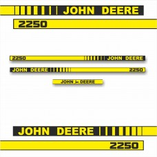 Комплект наклеек логотип эмблема Джон Дир John Deere 2250