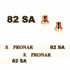 Комплект наклеек (эмблема) Пронар Pronar 82 SA