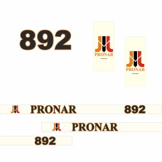Комплект наклеек (эмблема) Пронар Pronar 892
