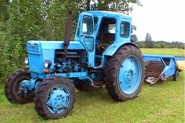 Трактор Т-40: особенности и комплектующие