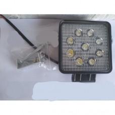LED Фара робочая квадратная 27w (Poland)