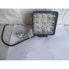 LED Фара робочая квадратная L0081S 48w (Poland)